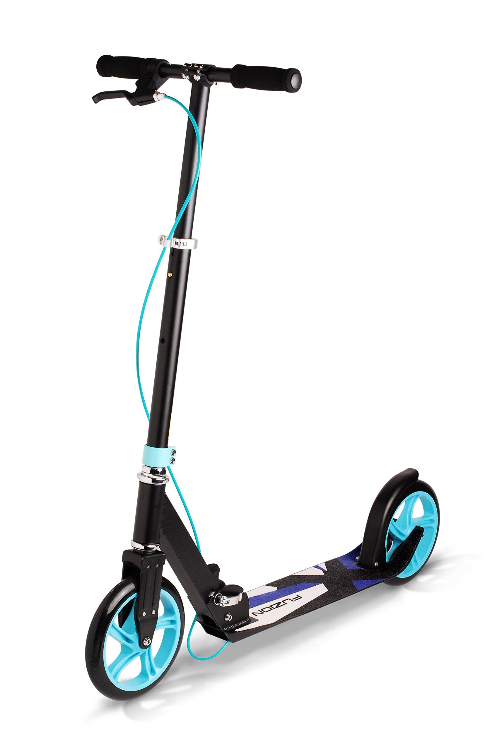 Fuzion CityGlide 2-Wheel Scooter, Black by Fuzion