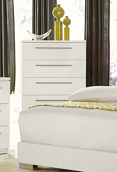 high gloss with space drawer narrow p classic white drawers chest of
