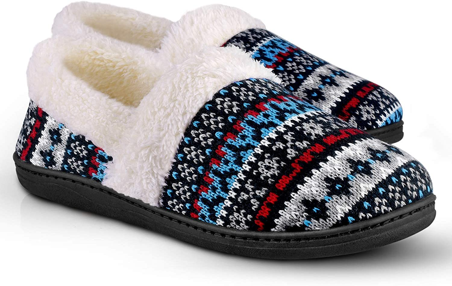 Details about  /SC Home Collection Womens Knit Slip On Fashion House Slippers