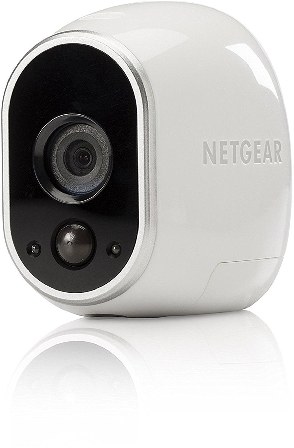 Arlo Add-on Camera with Motion Detection, Night Vision, Indoor/Outdoor, HD Video, Wall Mount, Security, Cloud Storage Included, Works with Arlo Base Station (VMC3030), White VMC3030-100EUS