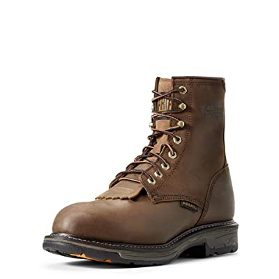 Ariat Men's Workhog 8 Inch H2O Composite Toe Boot | Industrial & Construction Boots