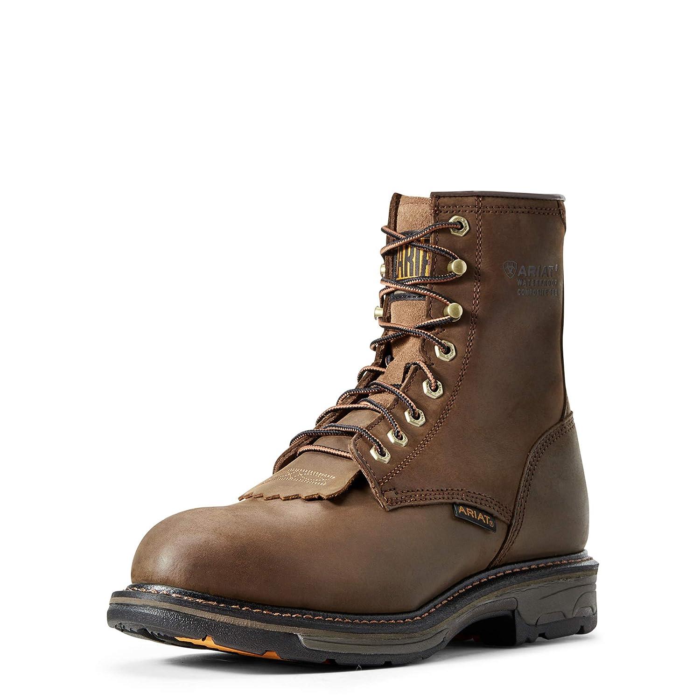 845c7e997df Ariat Men's Workhog 8 Inch H2O Composite Toe Boot