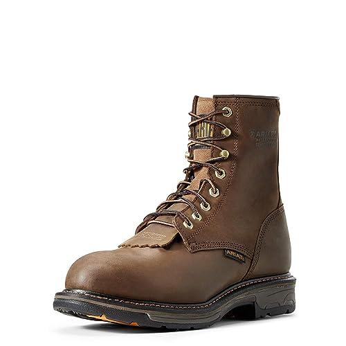 18c03d343f9 Ariat Men's Workhog 8 Inch H2O Composite Toe Boot