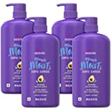 Aussie Paraben-Free Miracle Moist Shampoo with Avocado & Jojoba for Dry Hair, 30.4 Fluid Ounce, (Pack of 4)