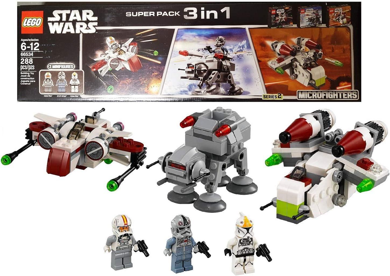 LEGO Star Wars Super Pack 3 in 1 (66534) by LEGO: Amazon.es ...