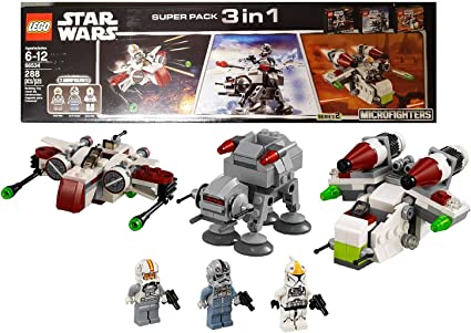 LEGO Star Wars Super Pack 3 in 1 (66534) by LEGO: Amazon.es ...