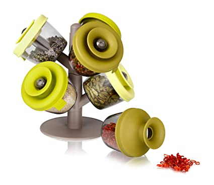 Tomorrows kitchen popsome set de 6 -2843660- Arbol dispensador para especias y hierbas,