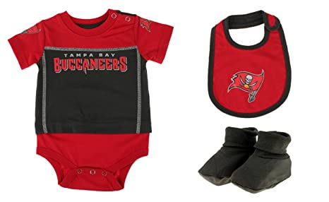 a616f2901 Image Unavailable. Image not available for. Color  Outerstuff Tampa Bay  Buccaneers NFL Baby Boys Newborn Infant Lil  Jersey 3 Piece Bodysuit Set
