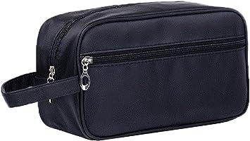 Bolsa de aseo JunNeng para hombre, bolsa de lavado de viaje, impermeable, de gran capacidad, para maquillaje al aire libre: Amazon.es: Equipaje