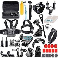 [61-in-1] Accessories Kit for GoPro HERO8 Black, GoPro MAX, Hero 8 7 6 5 4 3+, Session 5, Accessory Bundle Set for AKASO, APEMAN, DBPOWER, Campark, DJI OSMO, Lightdow, SJCAM, Sony, Yi Action Camera