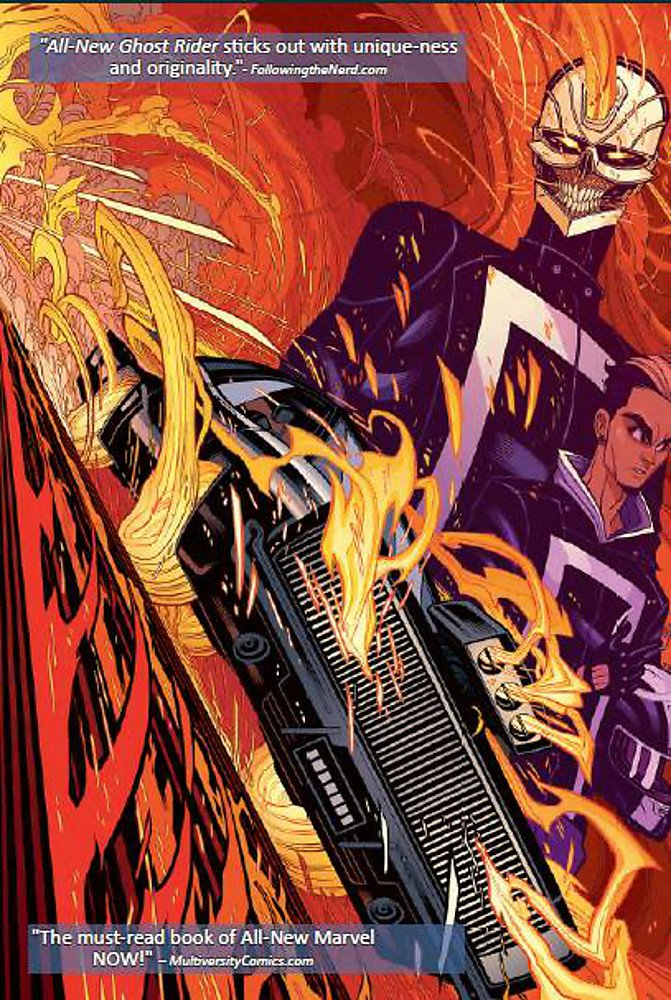 Amazon com: All-New Ghost Rider Volume 1: Engines of
