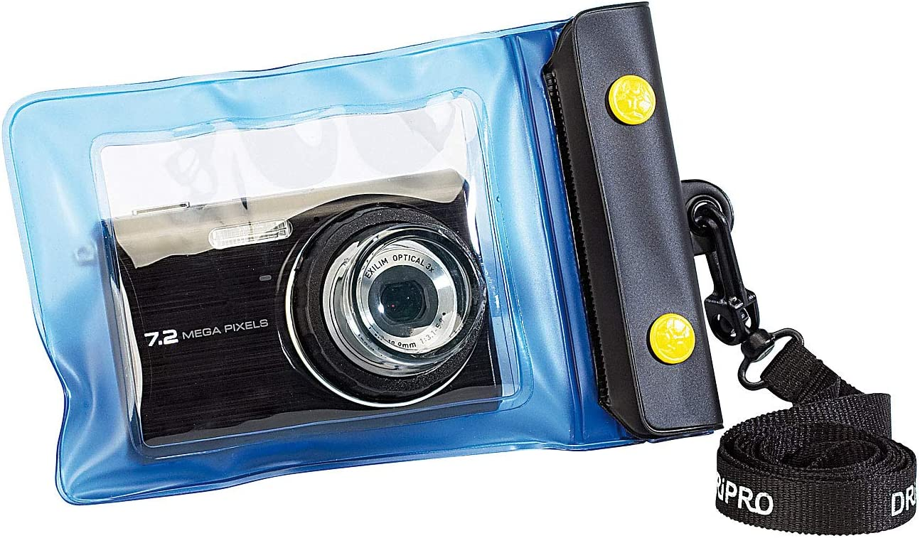 Somikon Waterproof Camera Case: Underwater Camera Bag XS with Lens Guide Diameter 30 mm (Underwater Housing for Cameras)