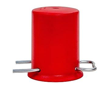 Gasflasche Für Gasgrill Obi : Rote schutzkappe für kg kg und kg propangasflaschen amazon