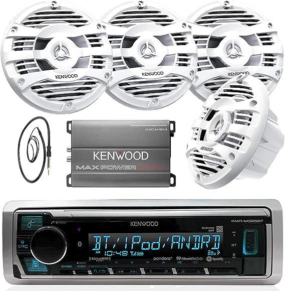 New Kenwood 2016 Marine Yacht Bluetooth Outdoor Radio With Marine Digital Remote