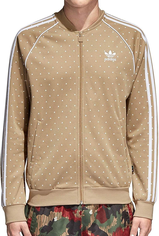 Mens ADIDAS Originals Pharrell Williams HU Superstar Track Jacket CY7873