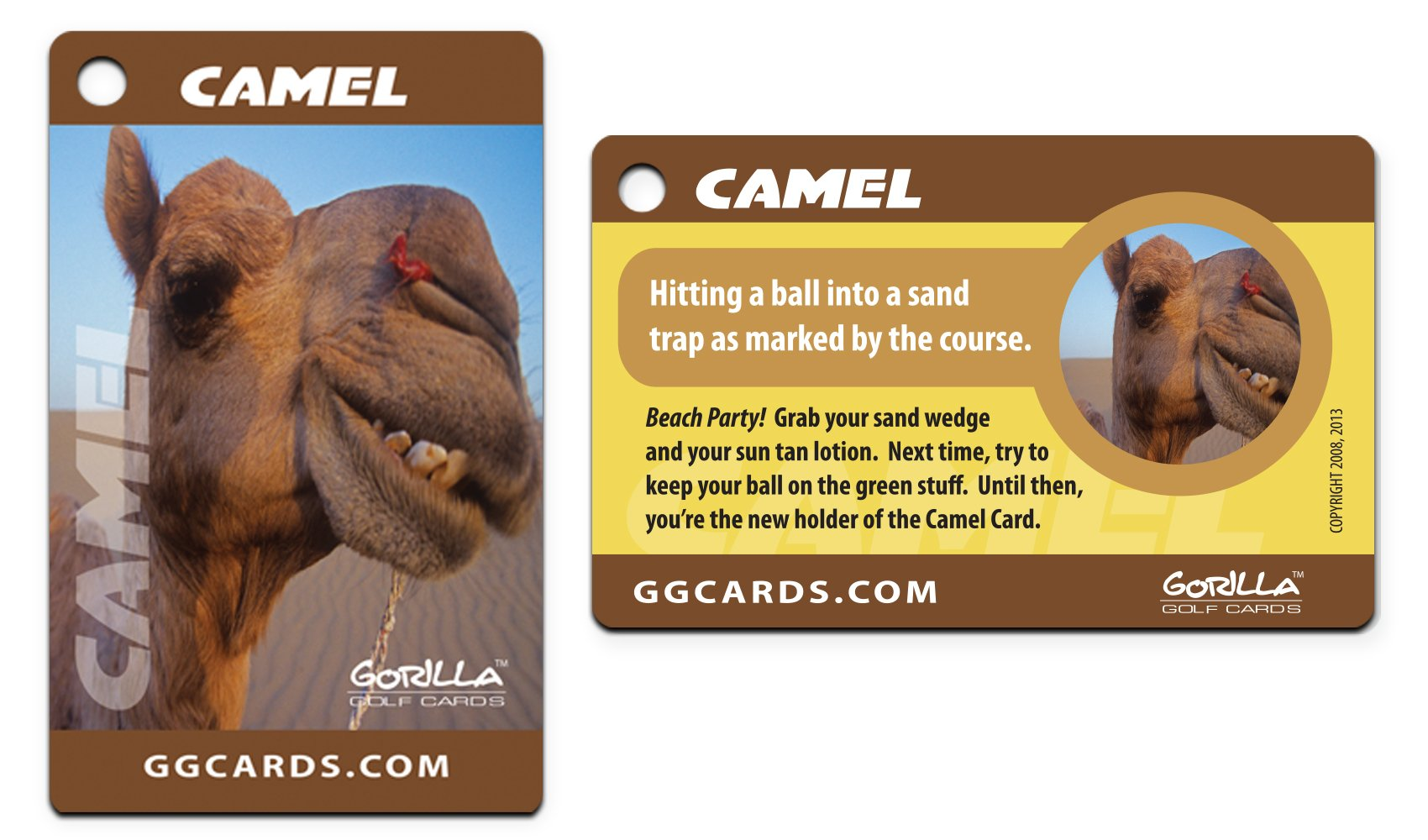 Gorilla Golf Cards : The On-Course Golf Betting Game by Gorilla Golf Cards (Image #3)