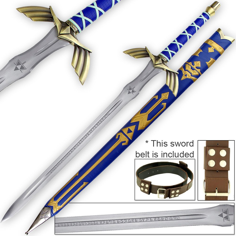 Legend of Zelda FULL TANG Master Sword Skyward Limited Edition Deluxe Replica by Top Swords
