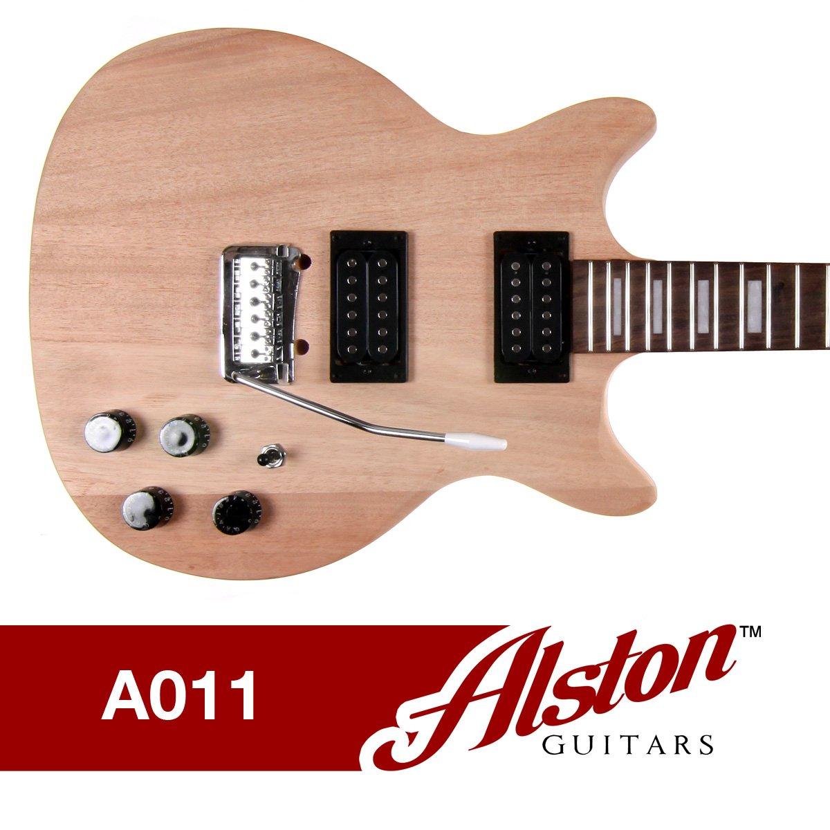 Alston Guitars Diy Electric Guitar Kit Bolt On Fine Custom Handmade Basses Parts Neck Solid Mahogany Maple A011 Musical Instruments