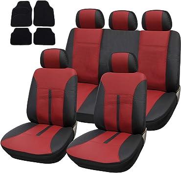 Esituro Universal Sitzbezüge Für Auto Schonbezug Mit 4 Teillige Fußmatten Scms0057 X Auto
