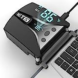 IETS GT202UB vacuum laptop fan cooler With temperature display, intelligent temperature measurement cooling, 13 wind speed (2