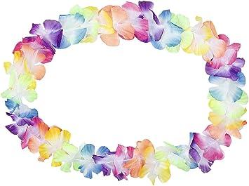 10 bracelet à fleur multicolore hawaïen Hawaï