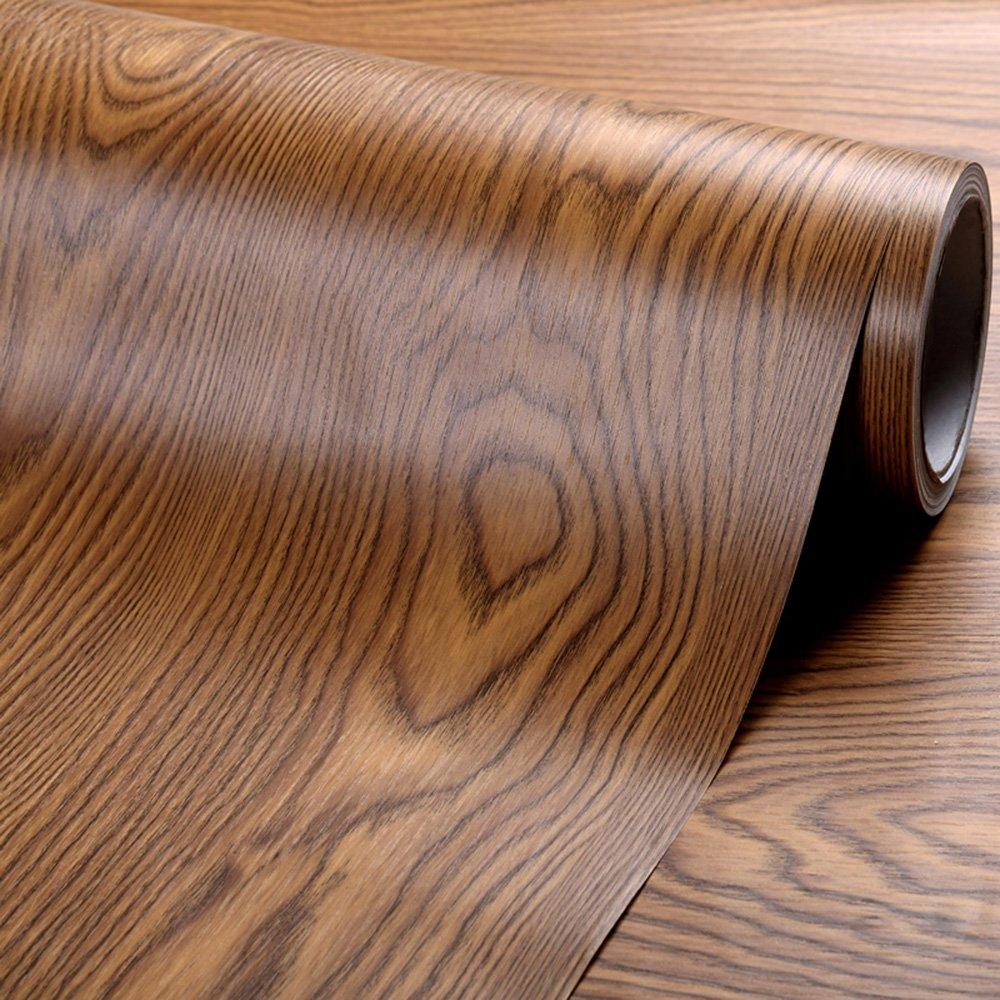 imitation Grain de bois contacter papier autocollant é tagè re Liner couvrant pour armoires de cuisine portes tiroirs Countertop Crafts 23, 5 par 429, 3 cm 5par 429 3cm F&U