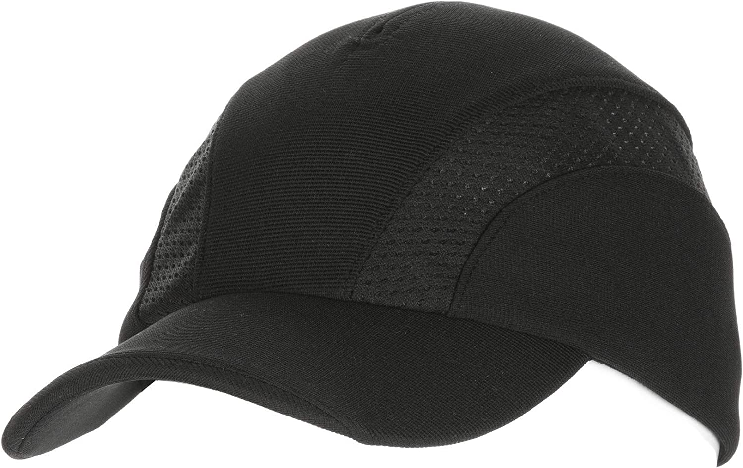 Chef Works Unisex Cool Vent Sides Baseball Cap, Black, One Size