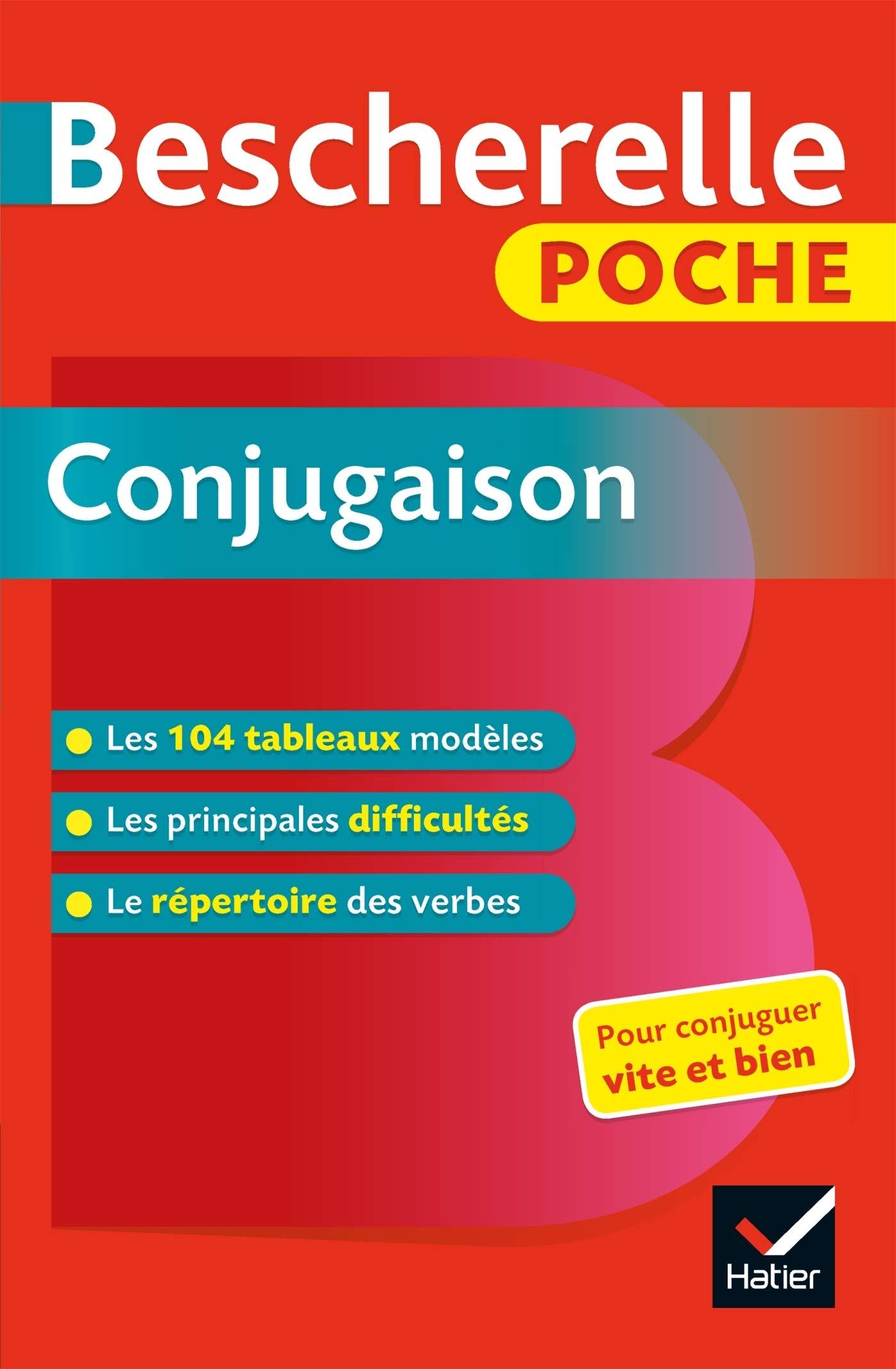 Bescherelle Poche Conjugaison Amazon Ca Collectif Books