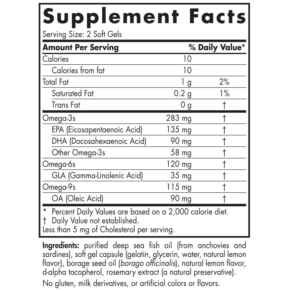 Nordic Naturals - Complete Omega Junior, Promotes Brain, Bone, and Nervous and Immune System Health, 180 Soft Gels by Nordic Naturals (Image #3)