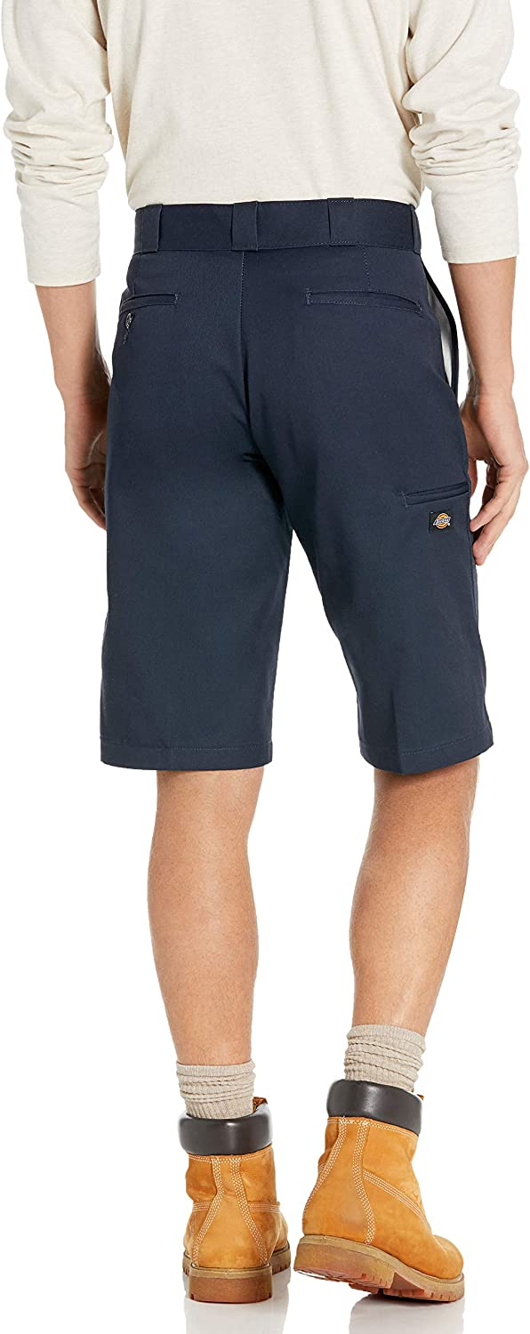 Dickies Mens 13 Inch Relaxed Fit Multi-Pocket Work Short