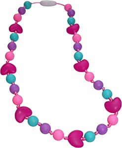 Munchables Hearts Sensory Chew Necklace for Girls