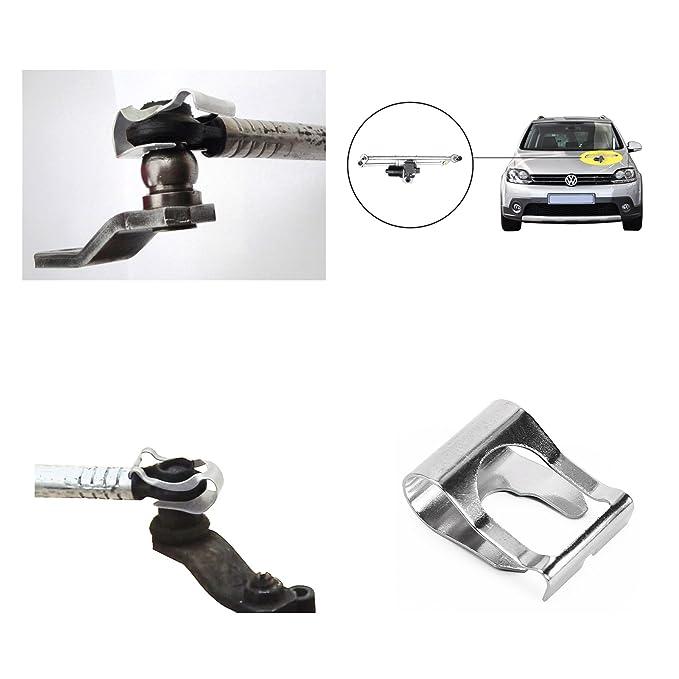 SurePromise One Stop Solution for Sourcing CLE DE TOUS - 2 x Clips Pinzas de Vinculación Clip de Reparación de Motor de Acoplamiento de ...