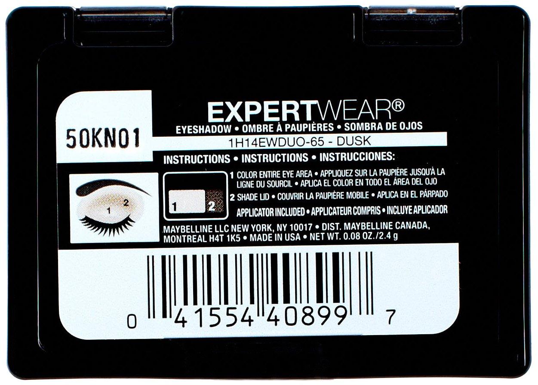 Expert Wear Eyeshadow Duo Dusk by Maybelline #6