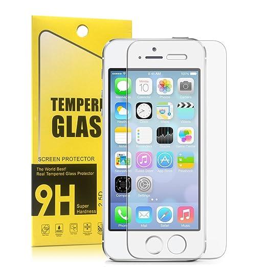 14 opinioni per Pellicola Vetro Temperato Iphone Se 5s 5c Protettiva Proteggi Gli Schermo Contro