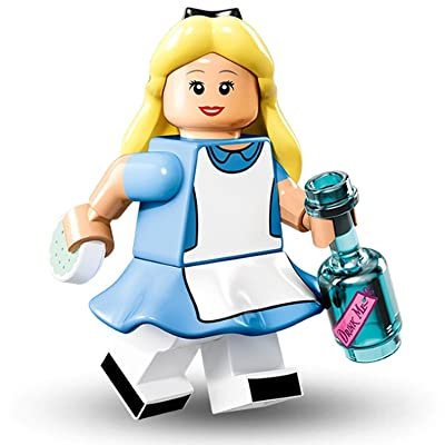 LEGO Disney Series Collectible Minifigure - Alice In Wonderland (71012): Toys & Games