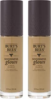 product image for Burts Bees Goodness Glows Liquid Makeup, Soft Honey - 1.0 Ounce (Pack of 2)