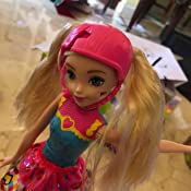 Amazon.com: Barbie Video Game Hero - Muñeca de patinaje con ...