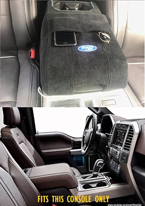 2004 2014 Ford F150 F250 F350 F450 Center Console Cover Wth Ford Logo Brand New In Package