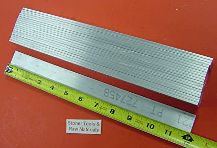 "1//8/"" x 1/"" 6061 T6511 Aluminum Flat Bar x 12/""-Long--/>.125/"" x 1/"" 6061 MILL STOCK"