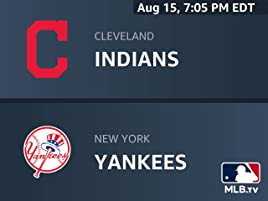 Amazon com: Cleveland Indians at New York Yankees