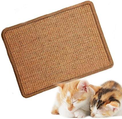 ASOCEA - Esterilla de sisal Natural para rascar Gatos, protección ...