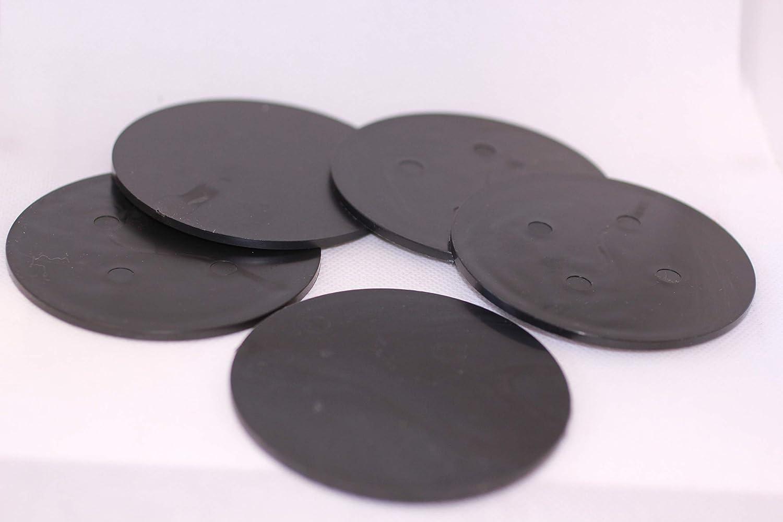 MK Unique Designs Five 5 3 Polymer Sound Boards for Friction Pot Turkey Calls