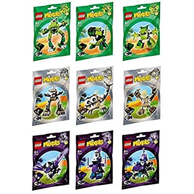 LEGO Mixels Series 3 Complete Set of All Figures/Characters: Toys & Games