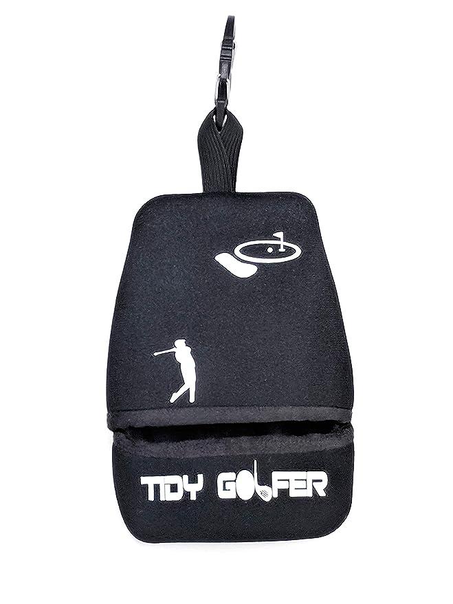 Tidy Golfer (Negro)  - Limpiador de Palos y Pelotas de Golf ...