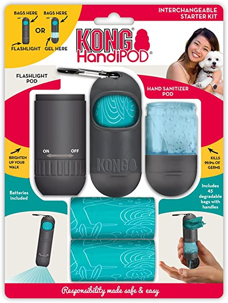 Amazon Com Kong Handipod Interchangeable Starter Kit Dog