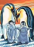 Reeves - Pintar por números junior, mediano, pingüinos