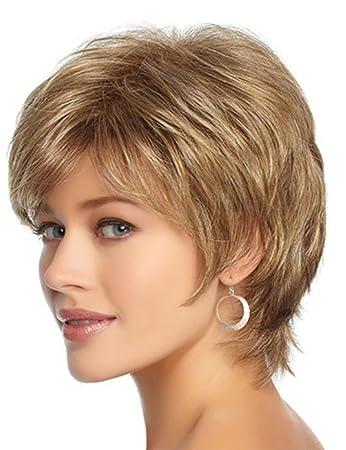 Amazon Com Hairsw Short Pixie Cut Layered Shag Wig Synthetic Hair