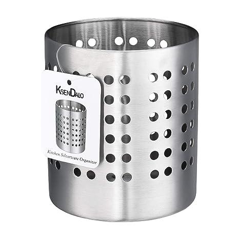 Amazon.com: Deluxe acero inoxidable Recipiente para ...