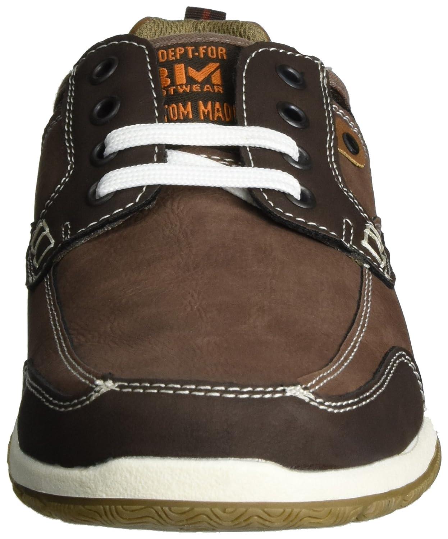 BM Footwear 2717204, Zapatillas para Hombre, Color Marrón (Mokka), 42 EU