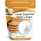 Judee's Superfine Caster Baker's Sugar (11.25 OZ)(5 lb Also) Non-GMO ~ Made in USA ~ Packaged in a Gluten and Nut Free Facili